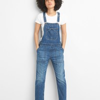 Relaxed Denim Overalls | Gap