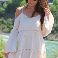 Boho Babe Off The Shoulder Dress