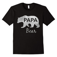 Men's Papa Bear T-Shirt Great Gift For Dad, Father, Grandpa