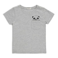 Panda-Pocket Tee (Kids)