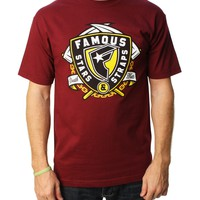 Famous Stars & Straps Men's Death Waits Graphic T-Shirt