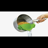 Clip On Silicone Strainer (Shipped from USA)