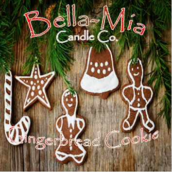 Gingerbread-Cookie Natural Hand Poured Soy Candles
