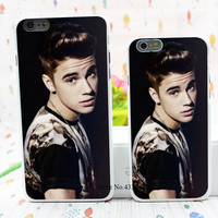 Diy Case Justin Bieber Style Hard White Cover Skin Back Case for iPhone 6 6s 6 plus