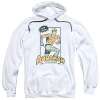 Aquaman Action Figure Poster Adult Hoodie