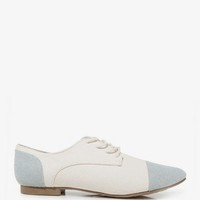 Colorblocked Canvas Oxfords | FOREVER 21 - 2031557599