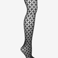 Fogal Oval Patterned Tights at INTERMIX | Shop Now | Shop IntermixOnline.com