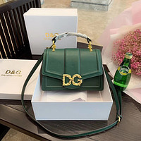 D&G Dolce & Gabbana Women Fashion Leather Satchel Shoulder Bag Handbag Crossbody