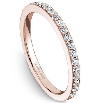 Noam Carver Shared Prong Diamond Wedding Band
