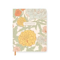 70's Floral Journal