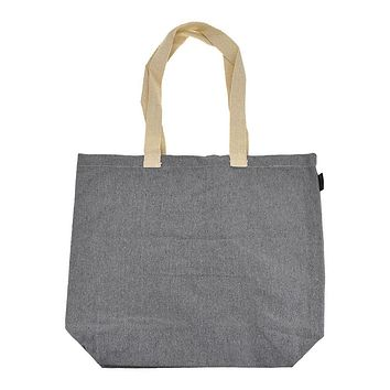 Recycled Canvas Tote Bag, 18-Inch