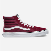 Vans Sk8 Hi Slim Womens Shoes Windsor Wine  In Sizes