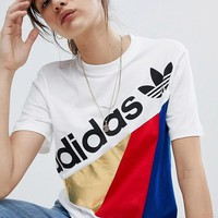 Adidas personality T-shirt top