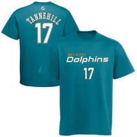 Ryan Tannehill Miami Dolphins Youth Primary Gear Name & Number T-Shirt - Aqua - http://www.shareasale.com/m-pr.cfm?merchantID=36369&userID=1042934&productID=533953944