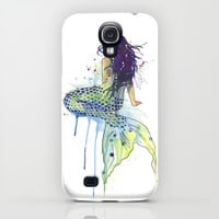 Mermaid iPhone & iPod Case by S Nagel