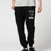 Wholsale women and men Sweatpants Aape beamed foot pants 501965868-002