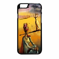 Salvador Dali Woman With Flower Head Vogue iPhone 6 Plus Case