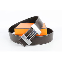 Hermes belt men's and women's casual casual style H letter fashion belt609