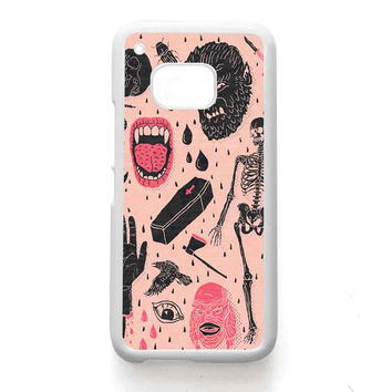 Whole Lotta Horror HTC One Case Available For HTC One M9 HTC One M8 HTC One M7