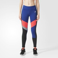 adidas Performer Mid-Rise Graphic Long Tights - Multicolor   adidas US