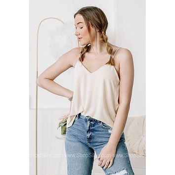 Mad For Neutrals Cami | Ivory