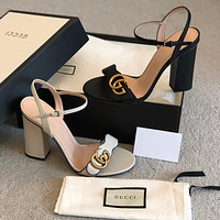 keniii  Givenchy  YSL  DIOR  LV  GG Men's and women's   LEATHER SANDAL