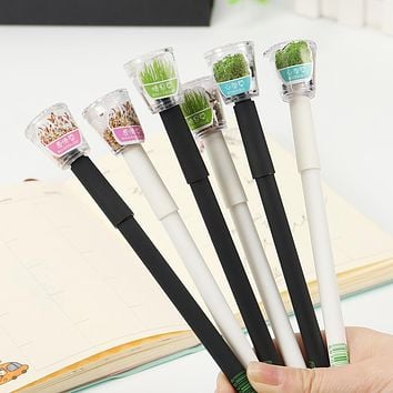 Cute Garden Grow Grass Gel Pen