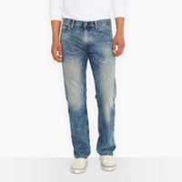 Levi's 504 Blue Straight Fit