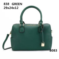MICHAEL KORS Lash package Woman shopping Handbag leather one shoulder bag B-LLBPFSH Green