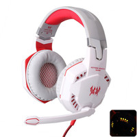 Gaming Headset Over-Ear Headphones Ear Phone Casque Stereo Earphone PC Gaming Headphone With Mic Led Light For Computer Desktop