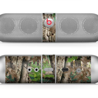 The Vibrant Real Woods Camouflage Beats by Dre Pill Bluetooth Speaker Skin