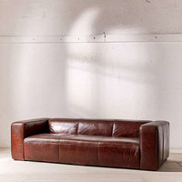 Baker Leather Sofa - Urban Outfitters