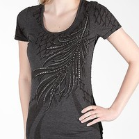 Miss Me Lace Back T-Shirt - Women's Shirts/Tops   Buckle