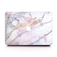 Lilac Dream Marble MacBook Case