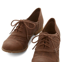 ModCloth Menswear Inspired Positively Perf Flat