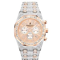 Audemars Piguet Tide brand full diamond simple versatile quartz watch #5