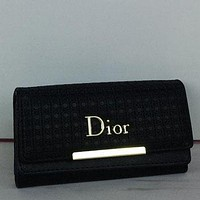 Dior Women Fashion Leather Purse Handbag-1
