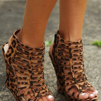 Walk On The Wild Side Wedges: Multi