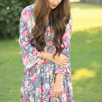 Fresh In Floral Dress