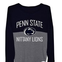 Penn State Nittany Lions Womens Gameday Jersey Long Sleeve Tee