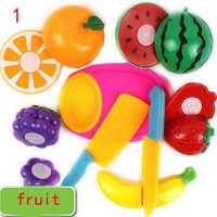 Kitchen Food Play Toy Cutting Fruit Vegetable Knife for Children Kids Great gift