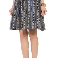 Jewel Jacquard Skirt