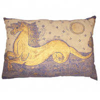 Mirella  Seahorse Pillow Sue Fisher King - Home Furnishings and Boutique Shop
