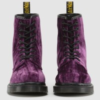 CASTEL PURPLE CRUSHED VELVET