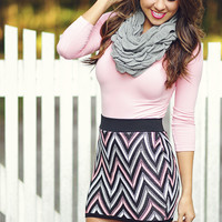 The Softest 3/4 Sleeve Top: Pink | Hope's