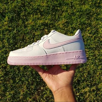 Nike Air Force 1 Colorblock Women's Low-Top Sports Running Shoes