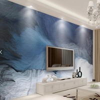 3d Abstract Move Stripe Line Photo Mural Wall Paper for Bedroom TV Background Wall Decor Hand Painted Wallpaper Custom Murals