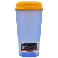 Active Ventures Unlimited Turbo Shaker Blue W/ Yellow Lid