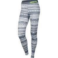 Nike Women's Pro Warm 8 Bit Printed Tights | DICK'S Sporting Goods
