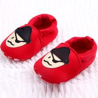 Autunm Spring Lovely Newborn Infant Baby Casual Soft Bottom Girl Boys Shoes Animal Print First Walker 0-12M UBY